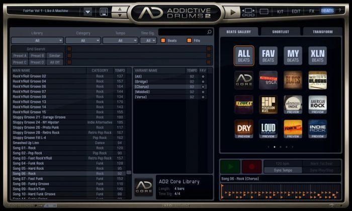XLN Audio Addictive Drums 2 Beats
