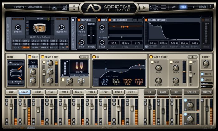 XLN Audio Addictive Drums 2 Edit
