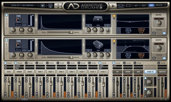 XLN Audio Addictive Drums 2 FX