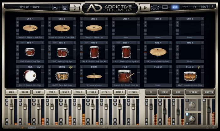 XLN Audio Addictive Drums 2 Kits
