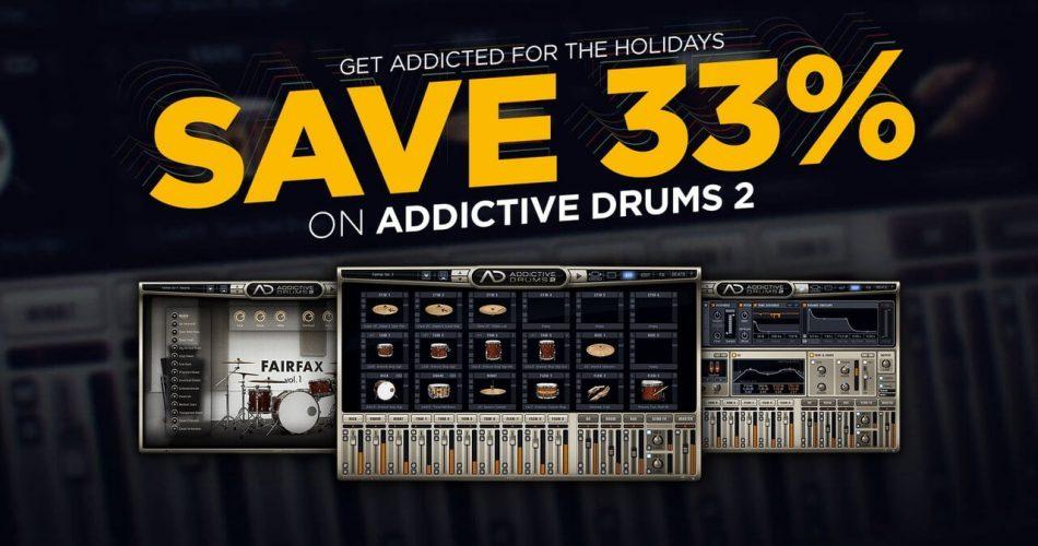 XLN Audio Addictive Drums 2 sale
