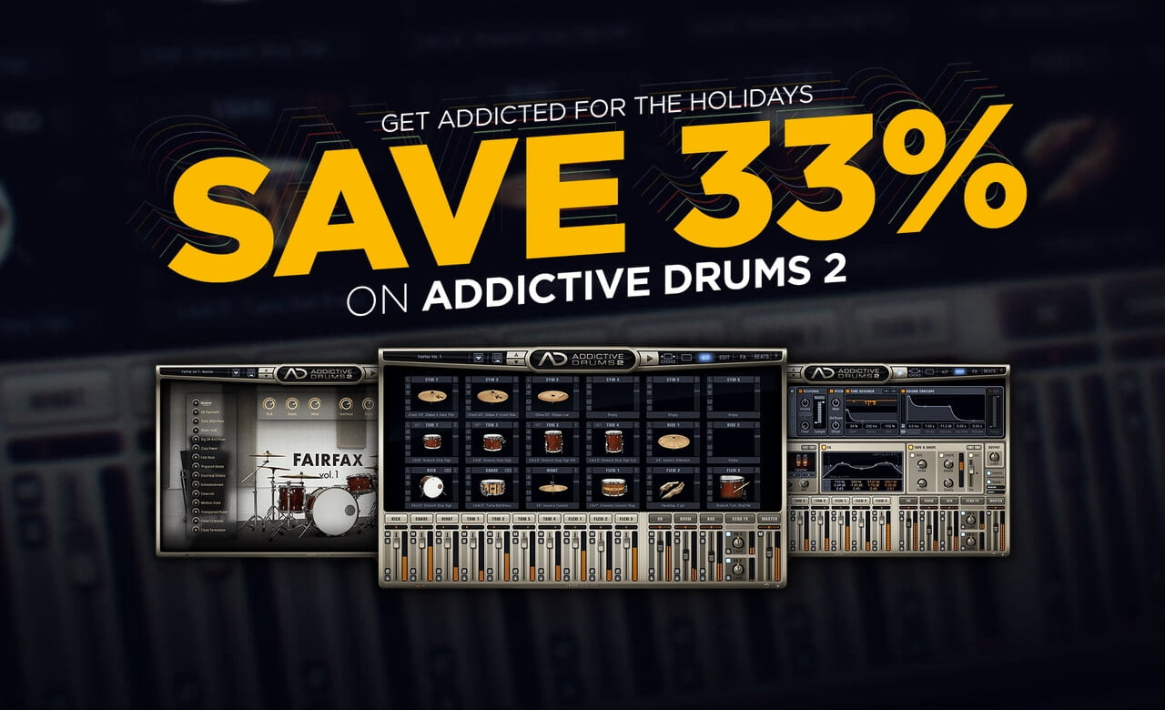 addictive drums 2 by xln audio on sale at 33 off. Black Bedroom Furniture Sets. Home Design Ideas