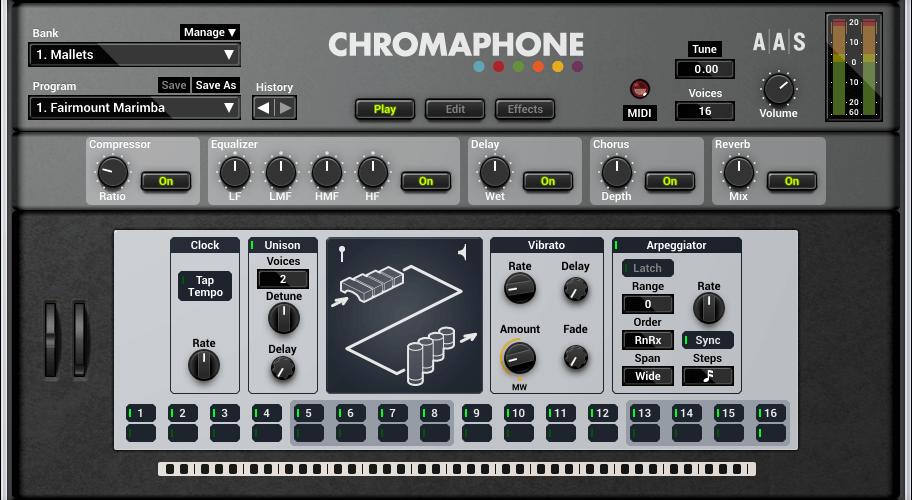 aas chromaphone 2 screenshot play