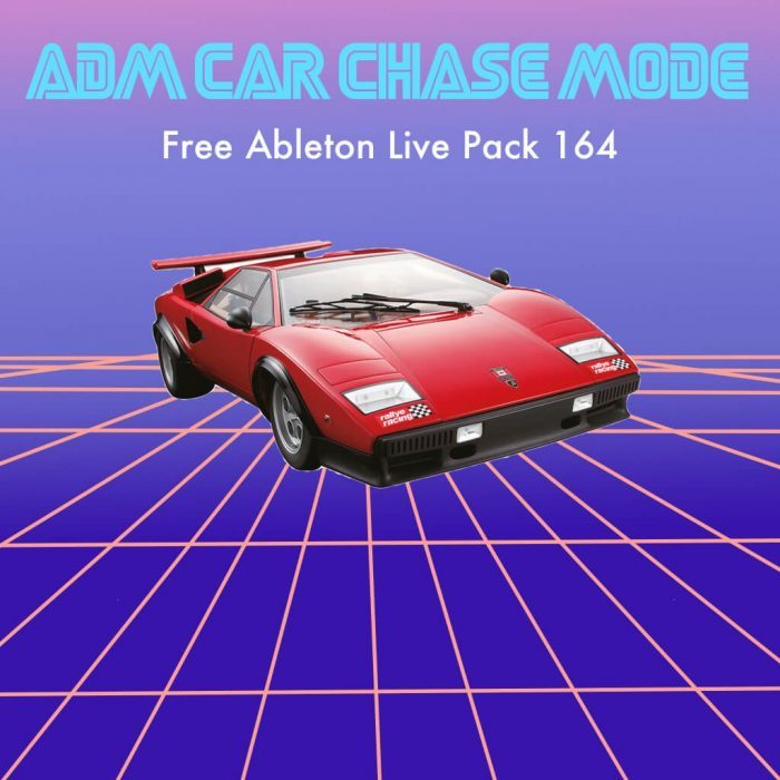 AfroDJMac ADM Car Chase Mode Ableton Live Pack