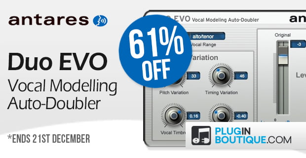Antares DUO Evo 61 off Plugin Boutique