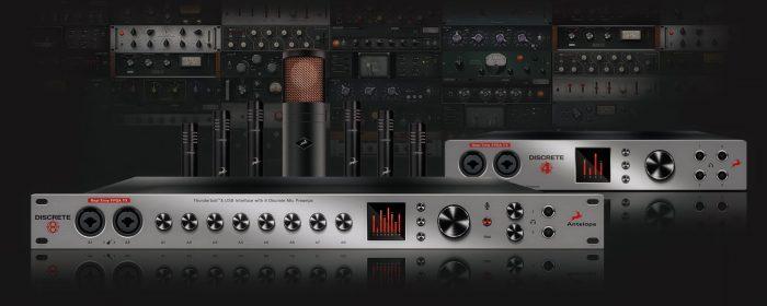 Antelope Audio Discrete 8 and Discrete 4