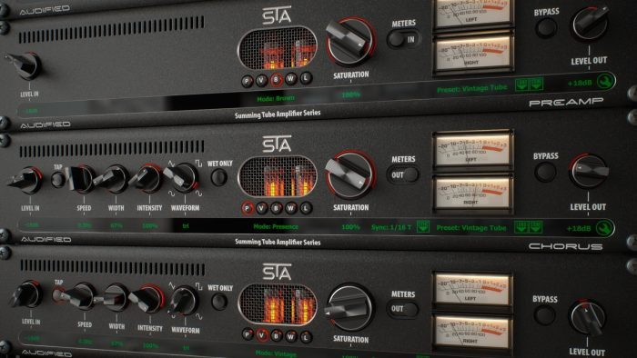 Audified STA Effects rack