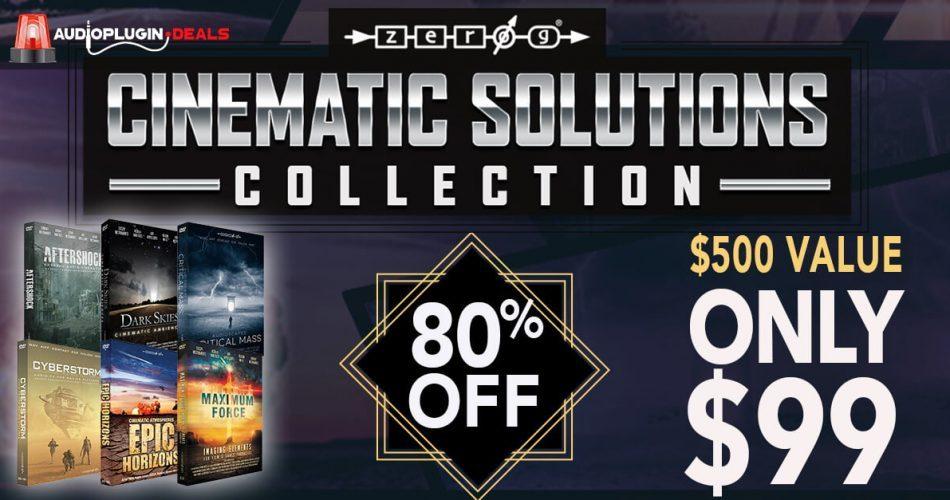 Audio Plugin Deals Zero-G Cinematic Solution Collection