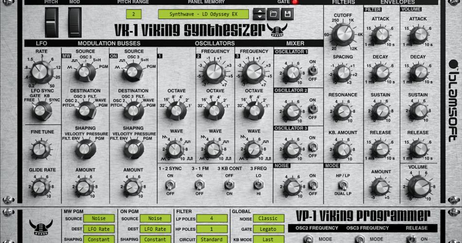 Blamsoft VK 1 Viking Synth VST