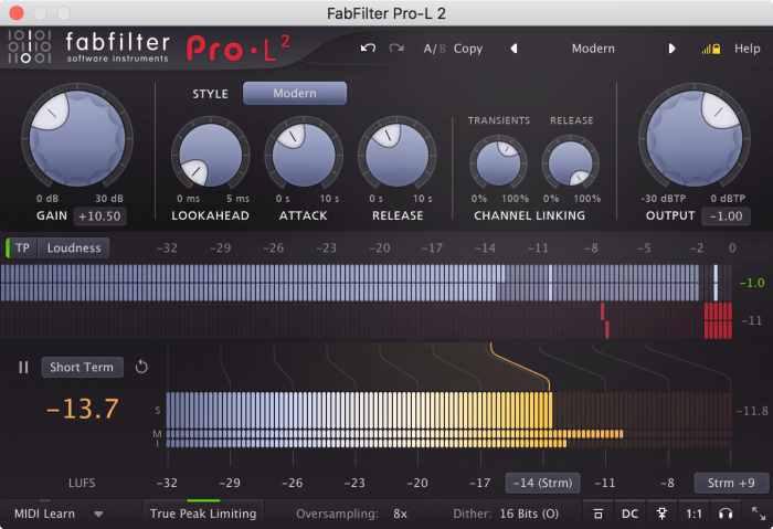FabFilter Pro L-2 Compact