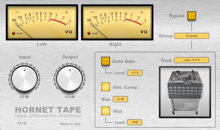 HoRNet Plugins Tape 1.1.0