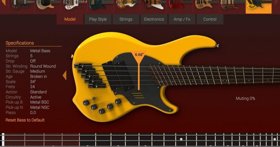 IK Multimedia Modo Bass Metal