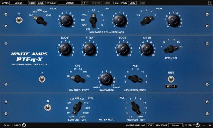 Ignite Amps PREq-X 1.1.0