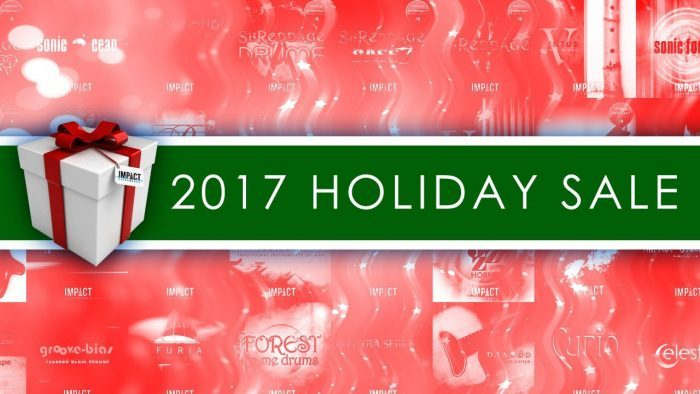 Impact Soundworks Holiday Sale 2017