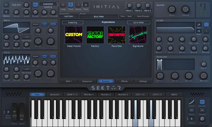Initial Audio Sektor skin