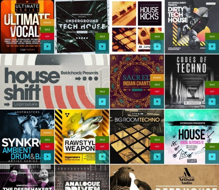 Loopmasters Techno & Hard Dance Sale