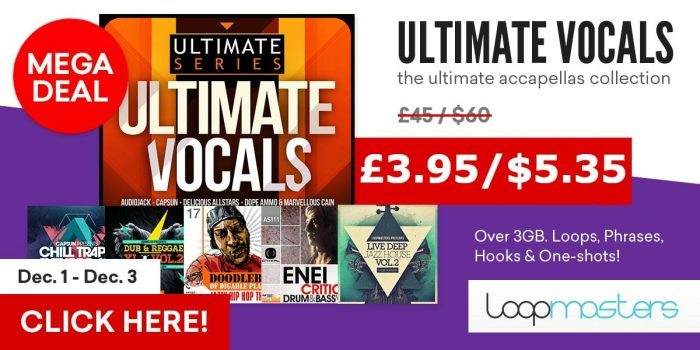 Loopmasters Ultimate Vocals deal