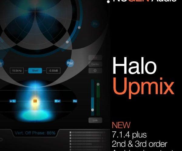 NUGEN Audio Halo Upmix 3D Immersive Extension update