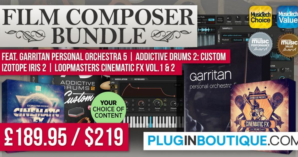 Plugin Boutique Film Composer Bundle
