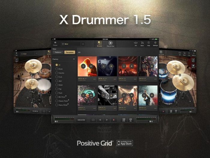 Positive Grid X Drummer 1.5