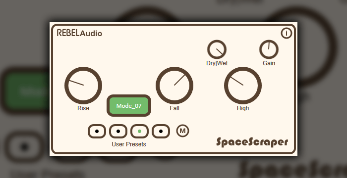 Rebel Audio SpaceScraper