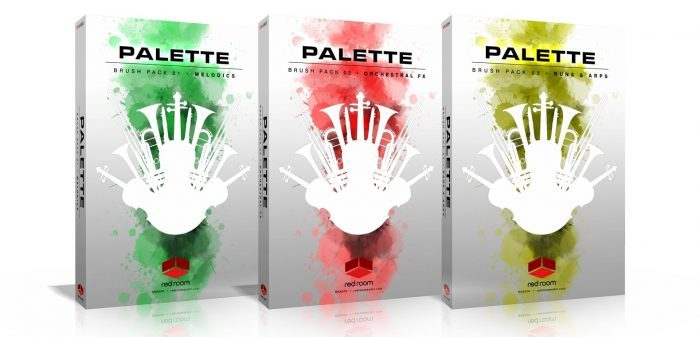 Red Room Audio Palette Brush Packs