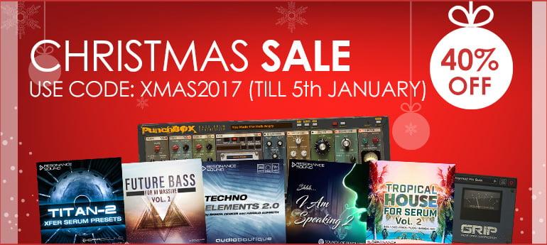Resonance Sound Xmas Sale 2017