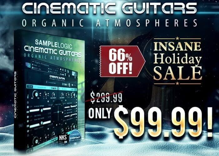 Sample Logic Cinematic Guitars Organic Atmospheres sale