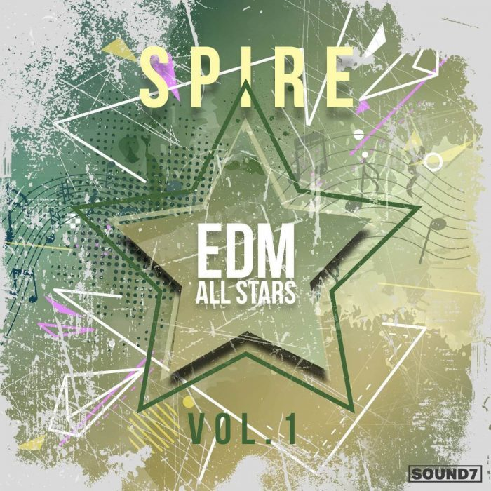 Sound7 EDM All Stars Vol 1 for Reveal Sound Spire