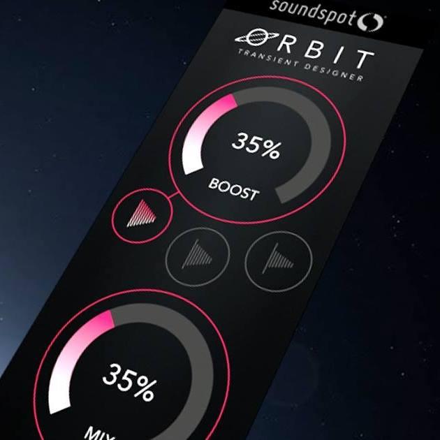 soundspot orbit transient designer vst vst3 au aax v1 0 1. Black Bedroom Furniture Sets. Home Design Ideas