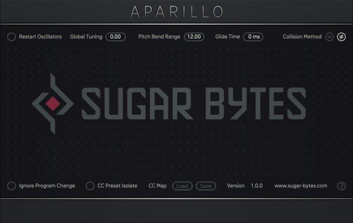 Sugar Bytes Aparillo Settings
