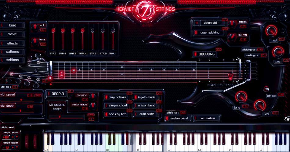 Three Body Tech Heavier7Strings GUI