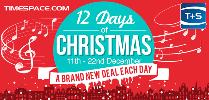 Time+Space 12 Days Of Christmas Sale 2017