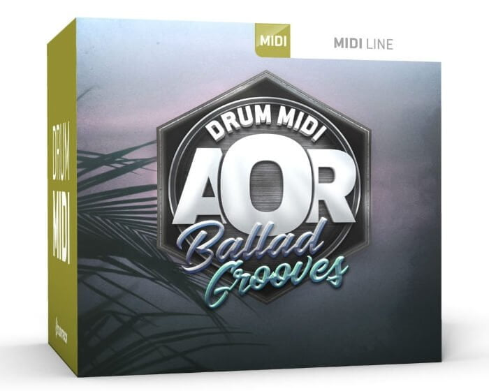 Toontrack AOR Ballad Grooves Drum MIDI