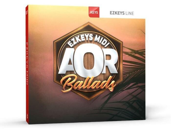Toontrack AOR Ballads EZkeys MIDI