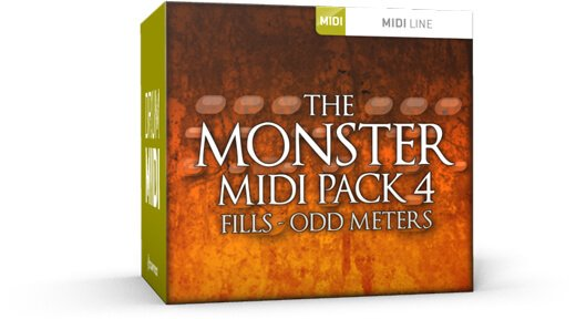 Toontrack Monster MIDI Pack 4 Odd Meters