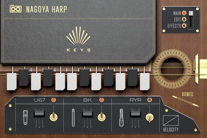 UVI Nagoya Harp Keys