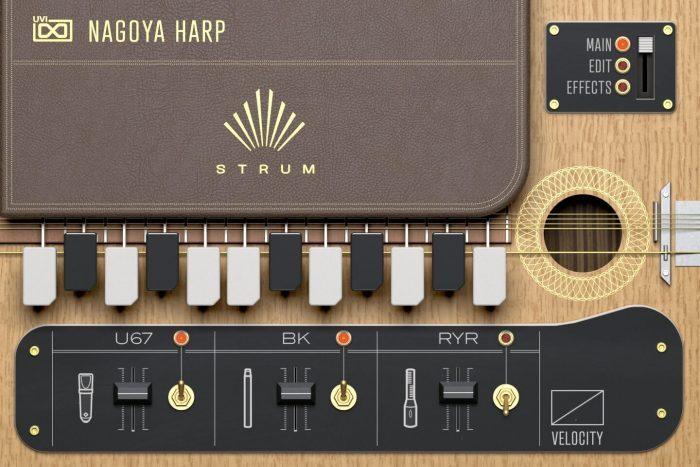 UVI Nagoya Harp Strum
