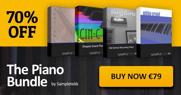 VST Buzz SampleTekk Piano Bundle