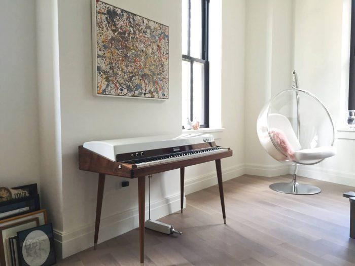 Vintage Vibe Custom Walnut Rhodes Restoration at Home