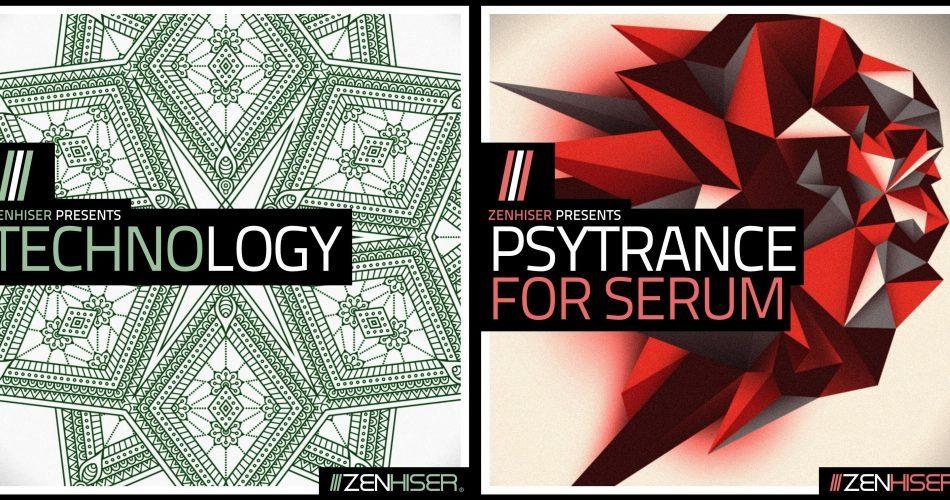 Zenhiser Technology & Psytrance for Serum