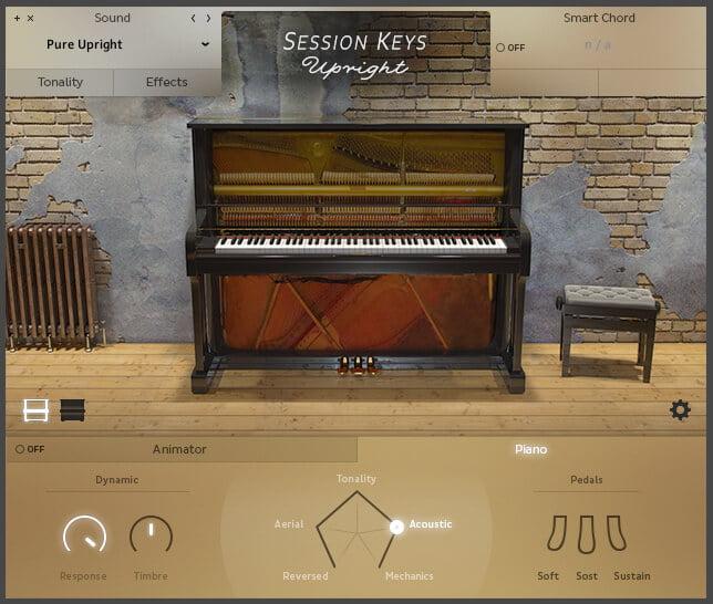 e instruments SessionKeysUpright Open