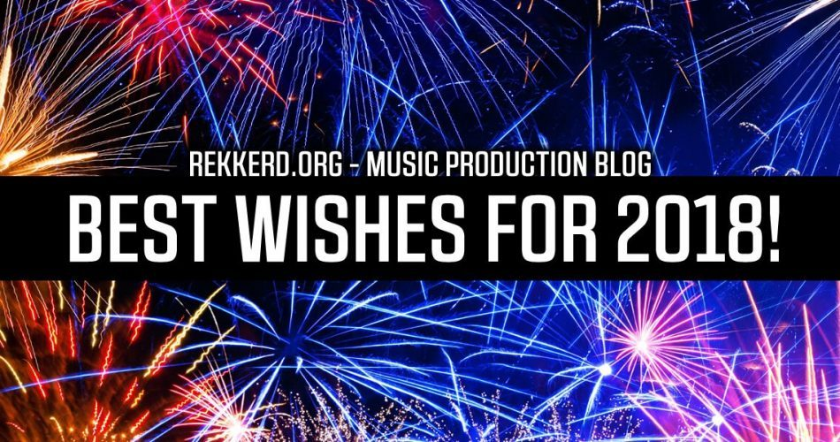 Best wishes for 2018