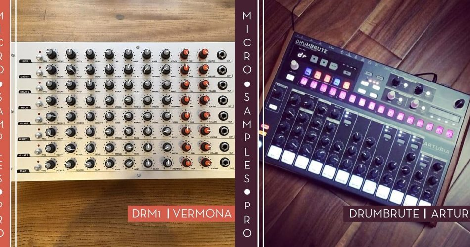 324 Records Micro Samples Pro DRM1 & Drumbrute