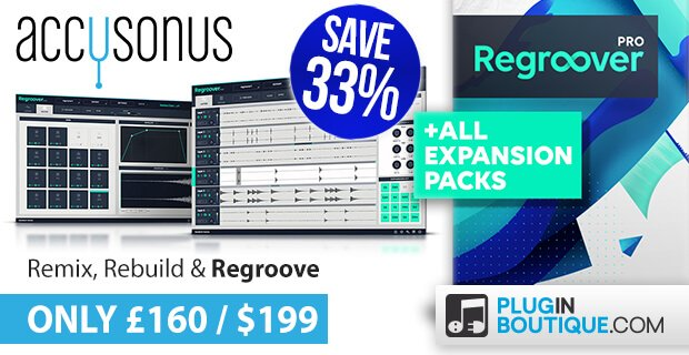 Accusonus Regroover Pro Bundle Sale