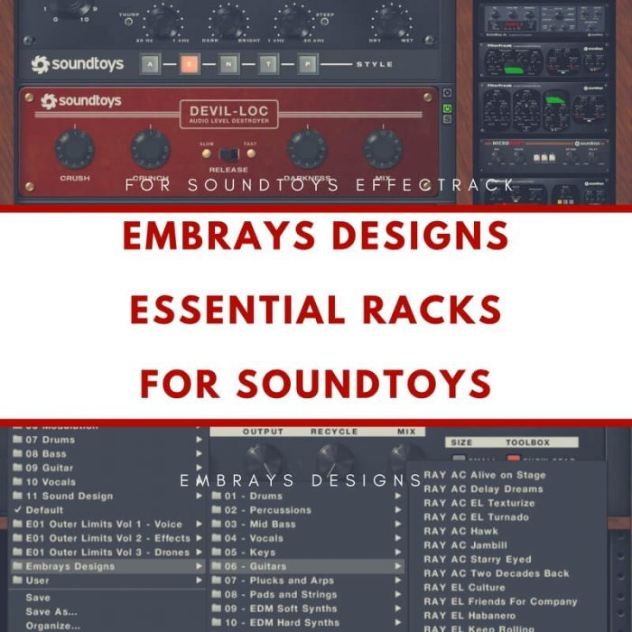 Ambrays Designs Essential Soundracks