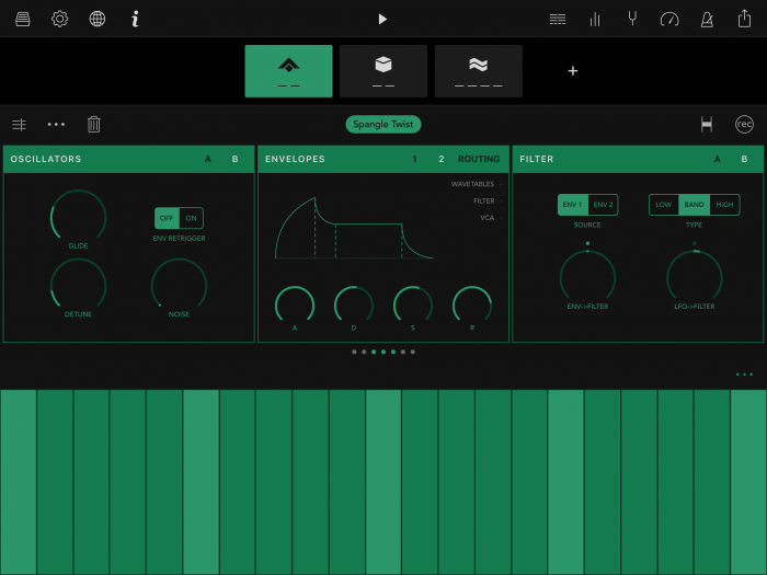 Ampify Groovebox for iOS MiniMon