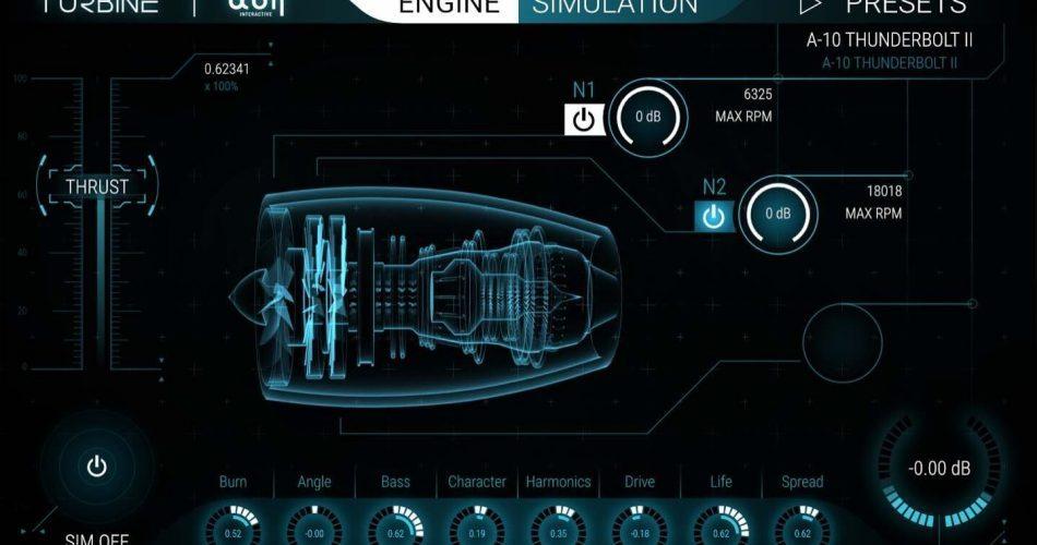 BOOM Library Turbine Engine