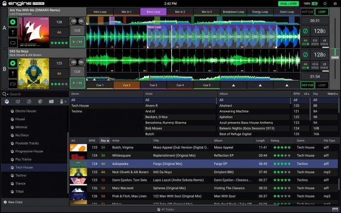 Denon DJ Engine Prime 2 Layer