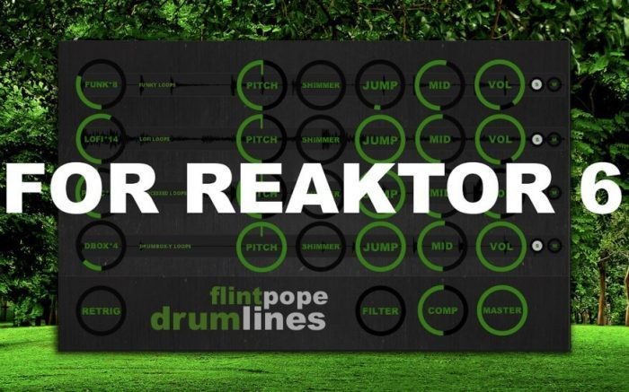 Flintpope Drumlines for Reaktor 6